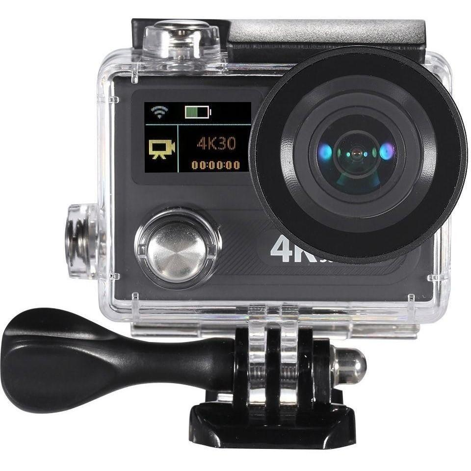 2Inch Dual Screen LCD Sports Action Camera Ultra HD 360 VR Play Wifi 4K 30fps 1080P 60fps 12MP 170° Wide-angle for High Definition Multimedia Interface Output Waterproof 30M with Remote Control