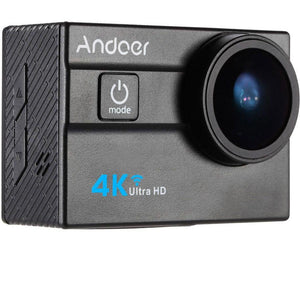 Andoer Ultra HD Action Sports Camera 2.0Inch LCD 16MP 4K 25FPS 1080P 60FPS 4X Zoom WiFi 25mm 173 Degree Wide-Lens Waterproof 30M Car DVR DV Cam Diving Bicycle Outdoor Activity