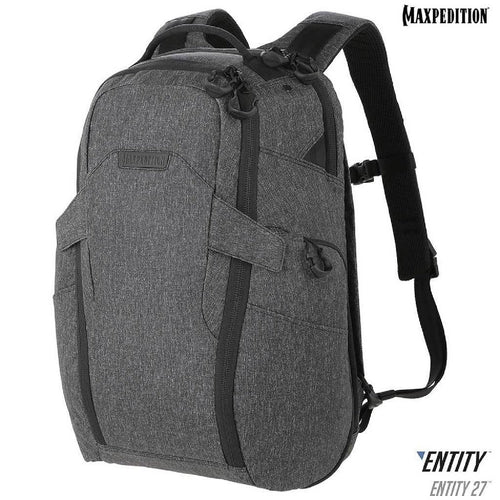 Maxpedition Entity 27 CCW-Enabled Laptop Backpk 27L Charcoal