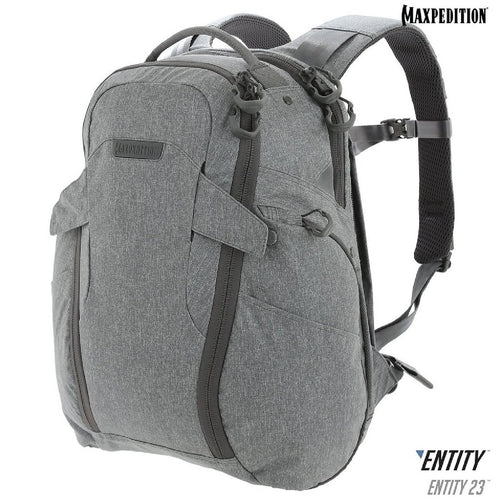 Maxpedition ENTITY 23 CCW-Enabled Laptop Backpack 23L Ash