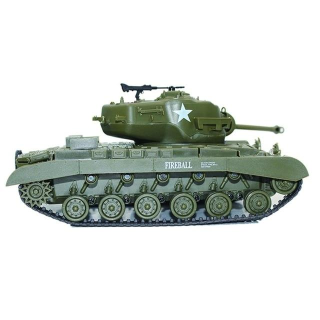 2.4G Infrared RC Battle M4 Tank Cannon & Emmagee Remote Control