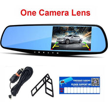 Load image into Gallery viewer, Car Rearview Mirror Camera (Dashcam + Reverse Parking)