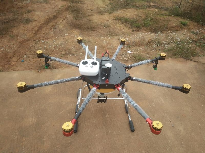8-axis 5KG Agricultural protection uav Drone multi-axis UAV For Sprinkle pesticides