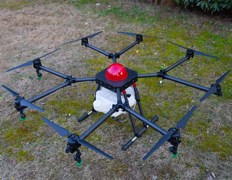 8-axis 10KG 10L Agricultural uav drone For Sprinkle pesticides China agriculture drone spray system