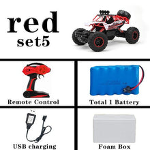 Load image into Gallery viewer, 1:12 4WD RC Cars Updated Version 2.4G Radio Control RC Cars Toys Buggy 2017 High speed Trucks Off-Road