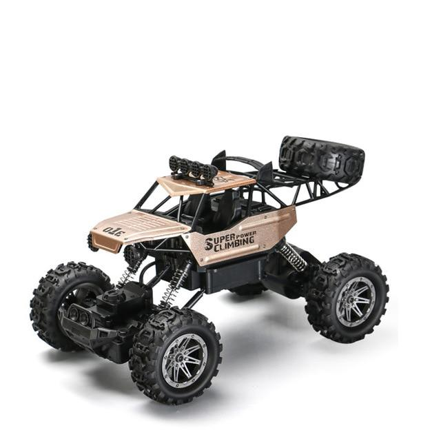 1:10 4WD RC car update version 2.4G radio remote control car car toy car 2017 high speed truck off-road truck children's toys