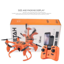 Load image into Gallery viewer, 2.4G RC Drone with Fixed Height Wifi Real time Transmission Foldable Headless Mode Quadcopter Drone Remote Control Model Toys
