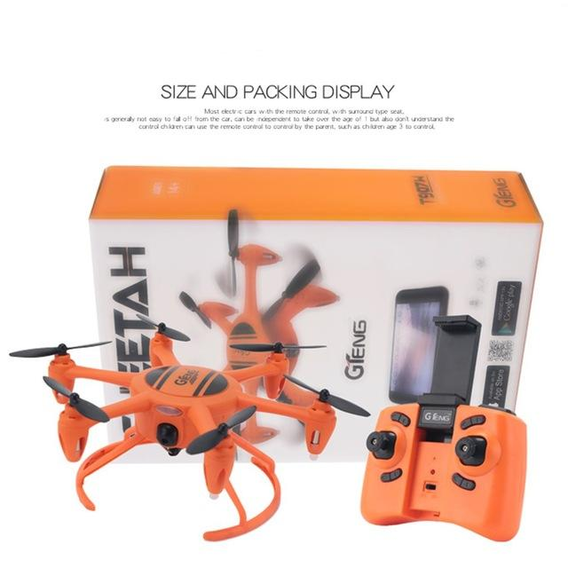 2.4G RC Drone with Fixed Height Wifi Real time Transmission Foldable Headless Mode Quadcopter Drone Remote Control Model Toys