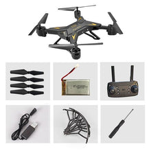 Load image into Gallery viewer, Christmas  KY601S Full HD 1080P 4 Channel Long Lasting Foldable Arm RC quadrocopter with camera Drone WIFI timely transmission