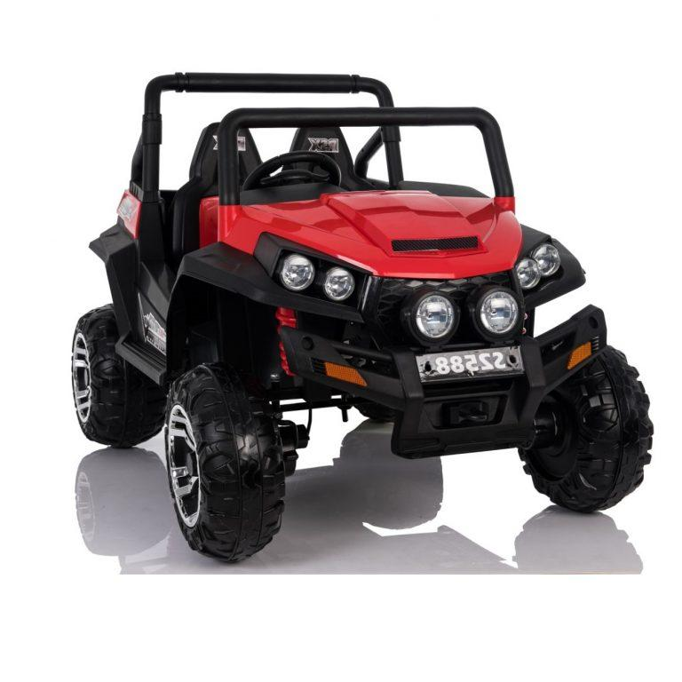 4x4 Beach Buggy Kids Ride-On Car By Little Riders Electric Toy Motorised 24V - Red