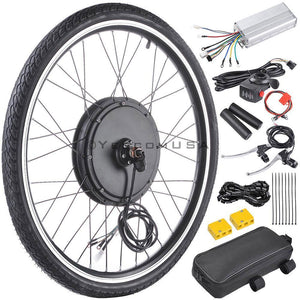Yescom Brushless Electric Bicycle Engine, 48v 1000w Front Wheel Hub Motor Kit