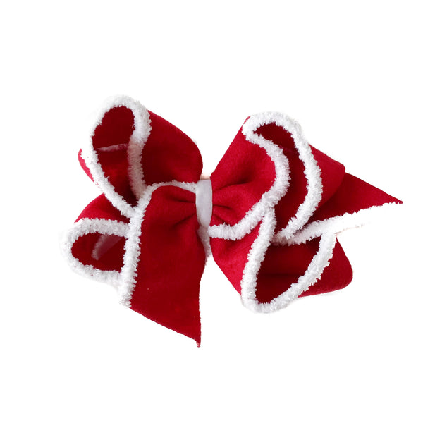 Giant Santa Suit Bow