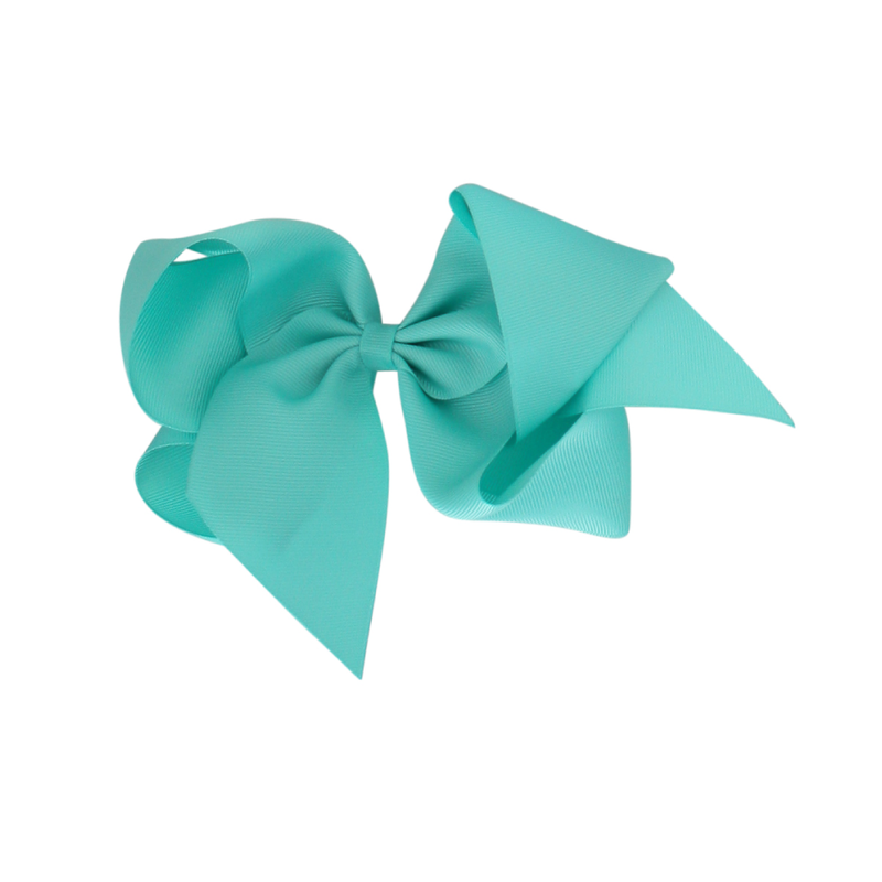 Giant Grosgrain Bow - Lucite