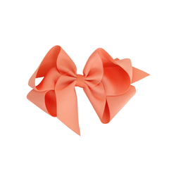 Big Grosgrain Bow - Apricot