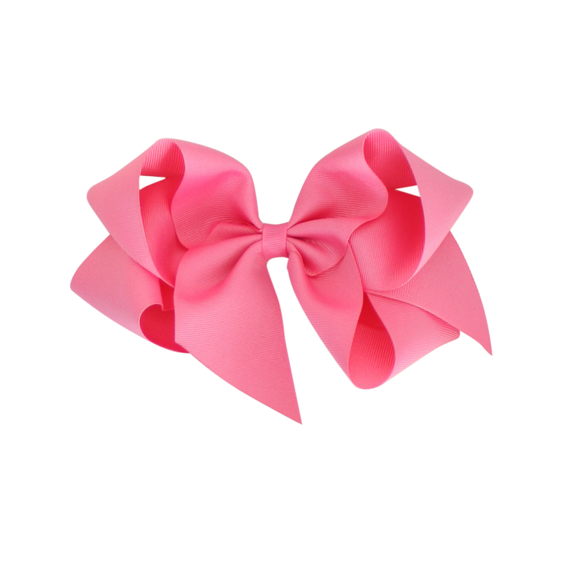 Giant Grosgrain Bow - Hot Pink