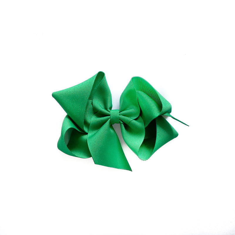 Big Green Grosgrain Bow