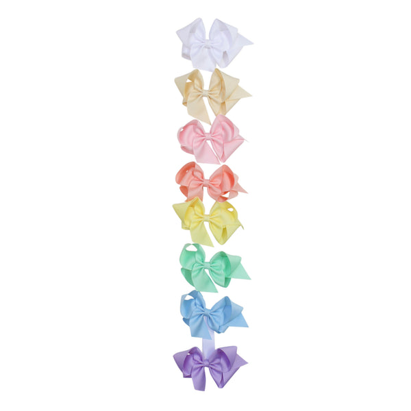 Big Pastel Grosgrain Bow