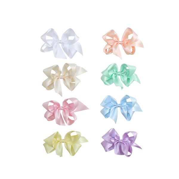 Big Pastel Satin Bow