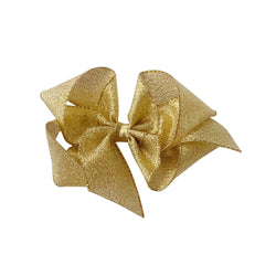 Big Gold Galena Metallic Bow