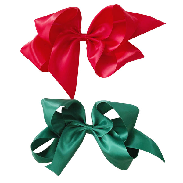 Giant Holiday Satin Bow