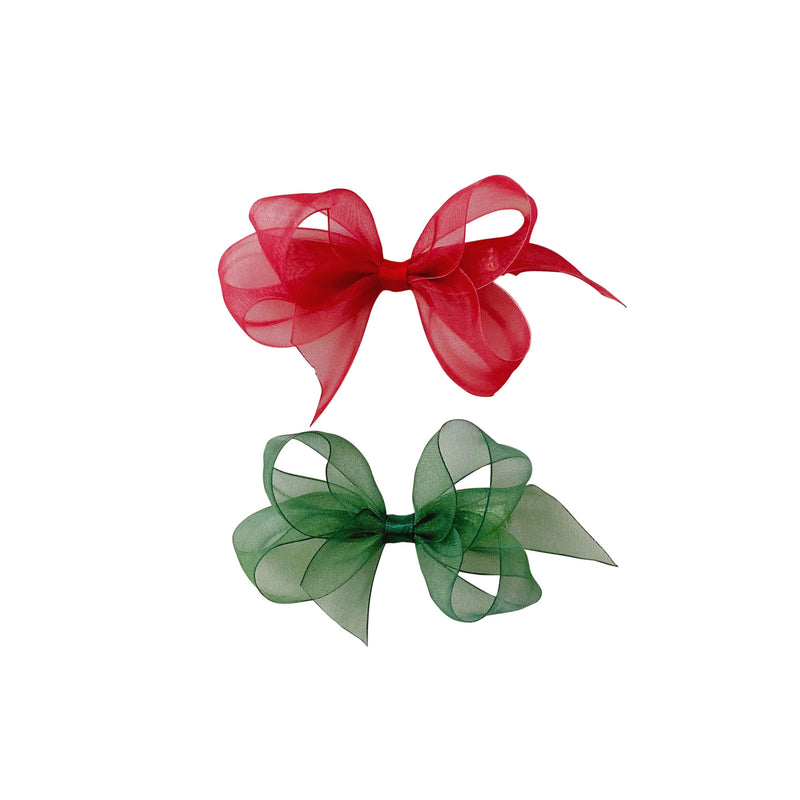 Toddler Holiday Organdy Bow