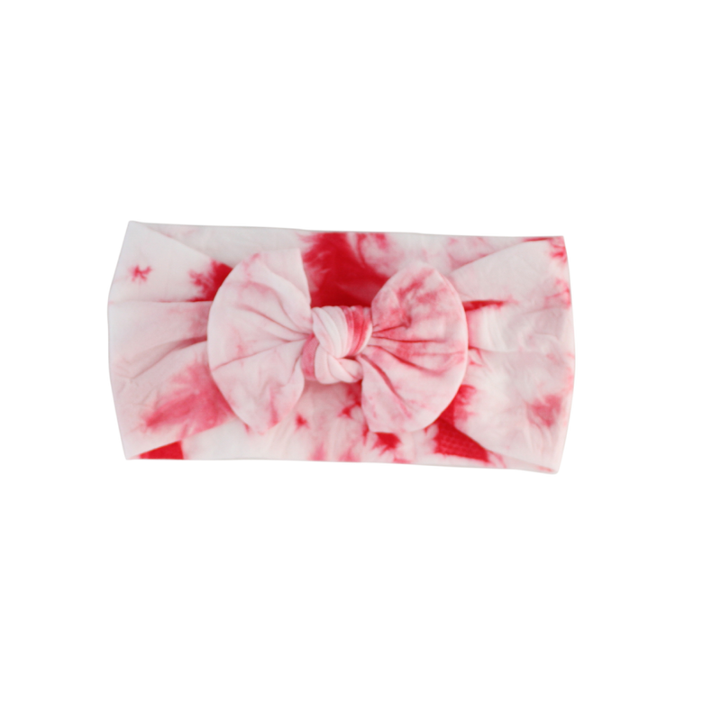 Tie-Dye Stretch Baby Headband