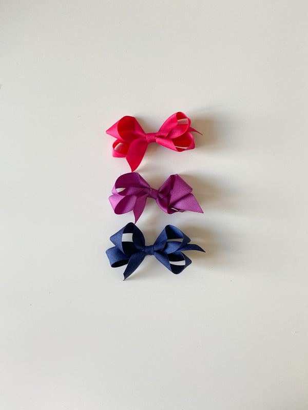 Toddler Classic Silk Bow