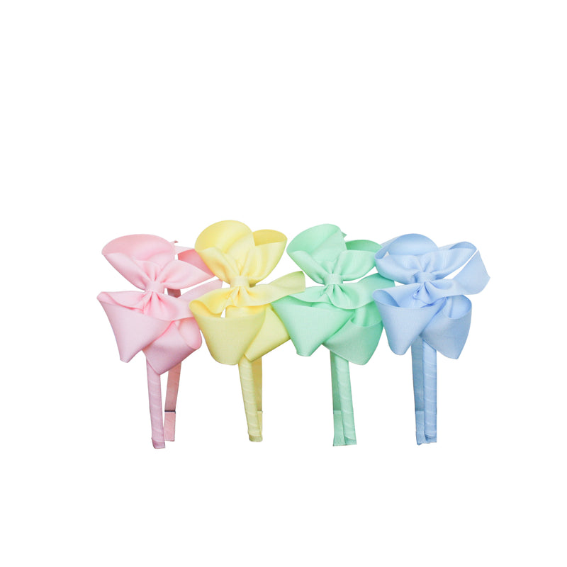Big Bow Headband - Pastel Colors