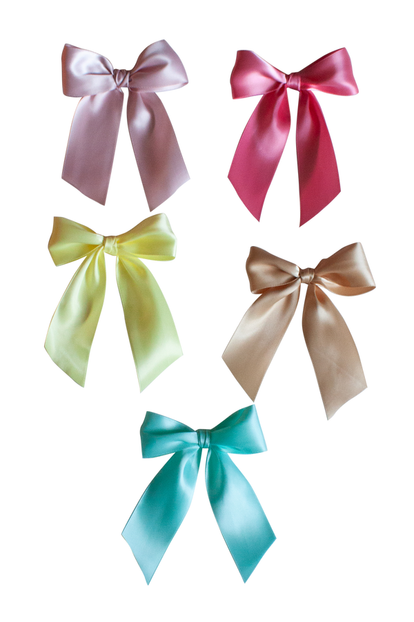 Satin Longtail Knot Bow