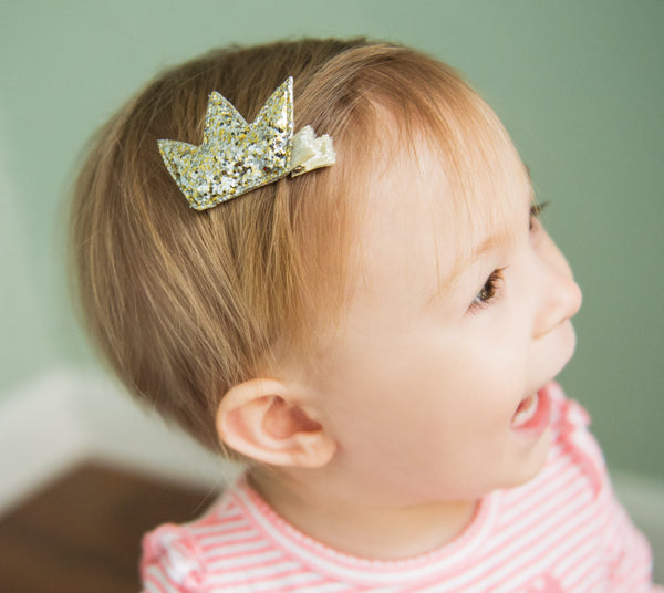 Sparkle Crown Clip