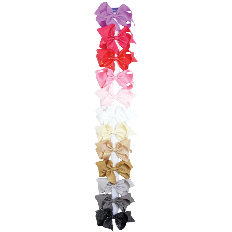 Super Toddler Diamond Dust Grosgrain Bow