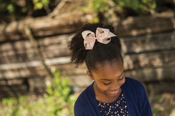 Small Empress Linen Bow