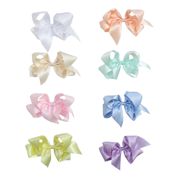Giant Pastel Satin Bow