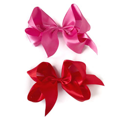 Giant Valentine's Day Satin Bow