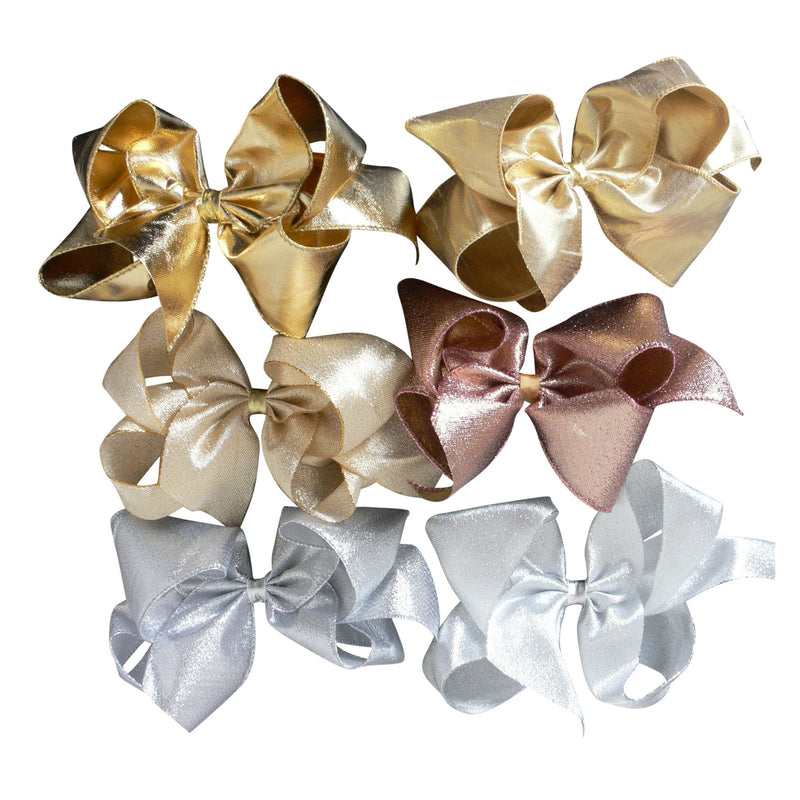 Giant Metallic Bow