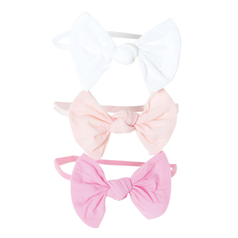 Nylon Bow Baby Headband
