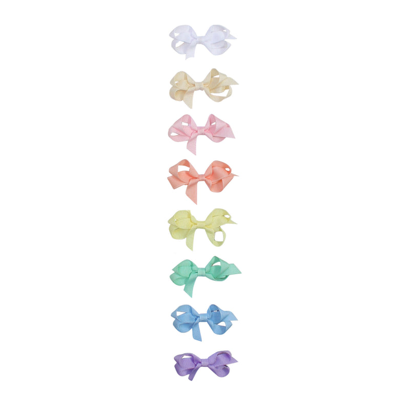 Infant Pastel Grosgrain Bow