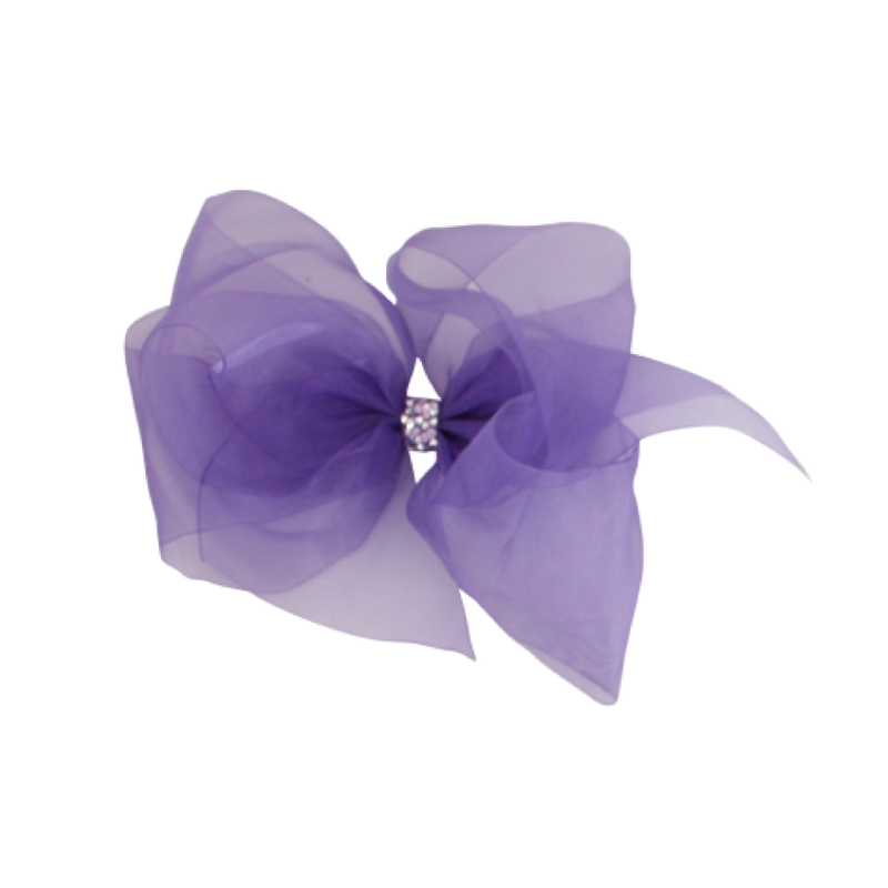 Giant Princess Organdy Bow - Delphinium