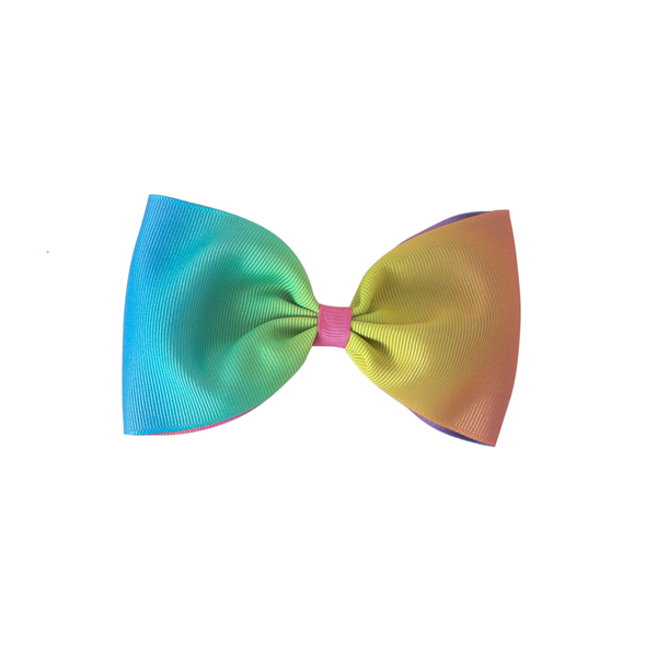 Rainbow Tie-Dye Party Bow