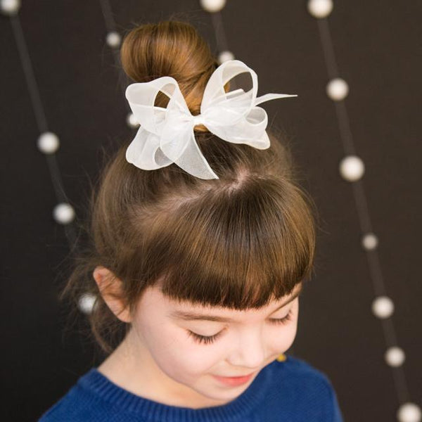Small Organdy Bow - Fall Colors