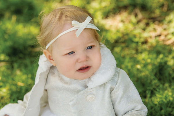 Grosgrain Shoelace Bow Headband