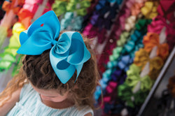 Super Jumbo Grosgrain Cheer Bow