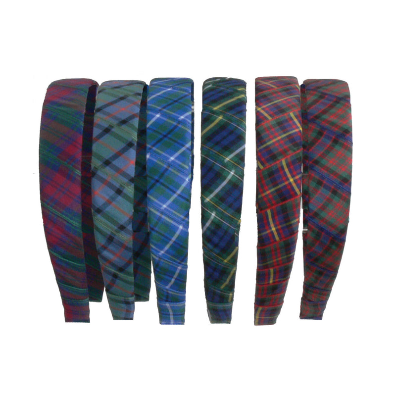 True Tartan Thick Headband