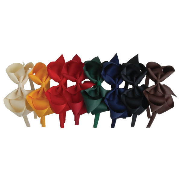 Traditional Fall & Winter Grosgrain Big Bow Headband