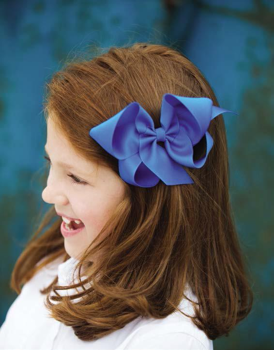 Big Grosgrain Bow - Coral