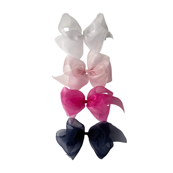 Giant Organdy Bow Classic Colors