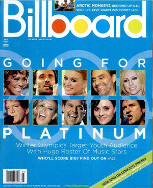 Billboard Back Issue Volume 118, Issue 5