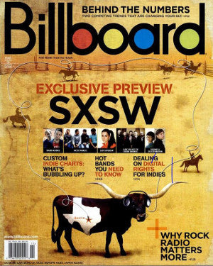 Billboard Back Issue Volume 118, Issue 11