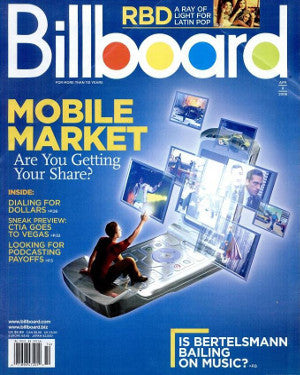 Billboard Back Issue Volume 118, Issue 14