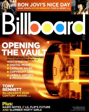 Billboard Back Issue Volume 118, Issue 32